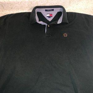 Men's Tommy Hilfiger Dark Green Collared Shirt